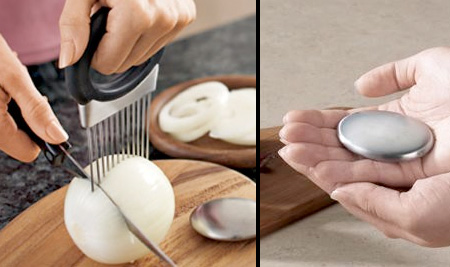 Onion Holder and Odor Remover