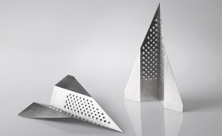Paper Plane Cheese Grater