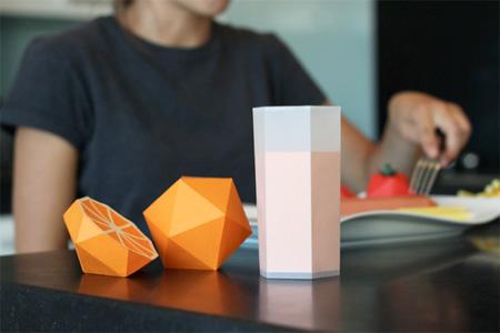 Paper Fruit