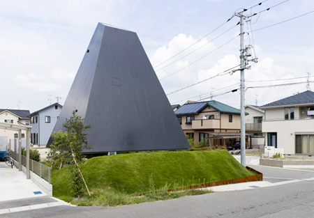 Pyramid Shaped House