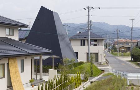 Pyramid Inspired House
