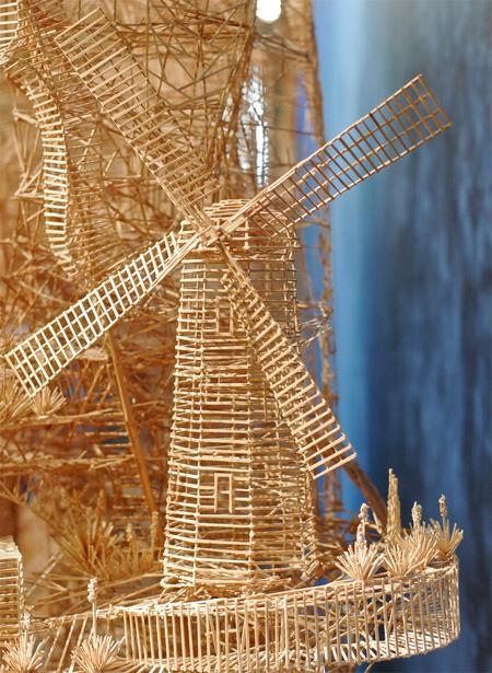 Toothpick Windmill