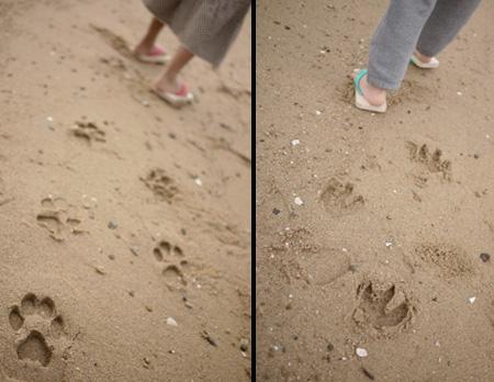 Footprint Sandals