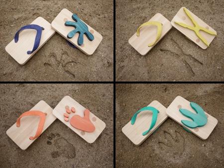 Foot Print Sandals