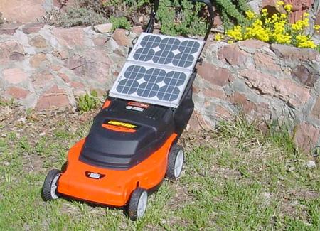 Solar Powered Lawnmower