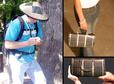Solar Hat and Solar Purse