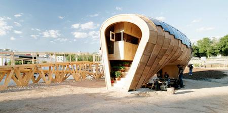 Unique Solar Powered House