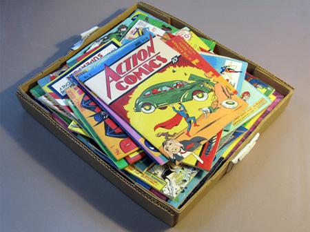 Wooden Comics