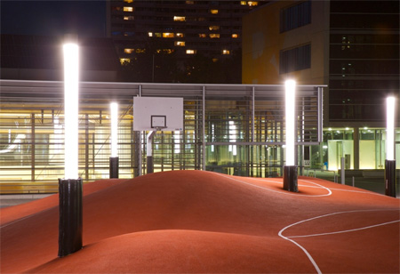 Creative Basketball Court