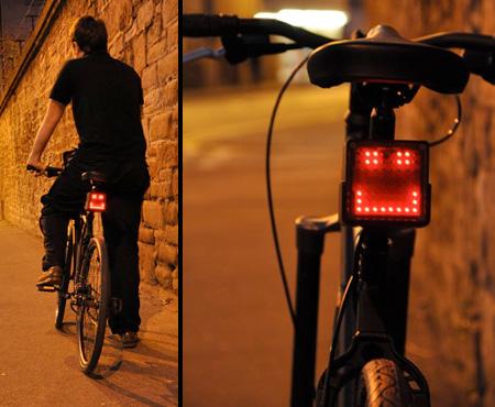 Smiley Bike Light