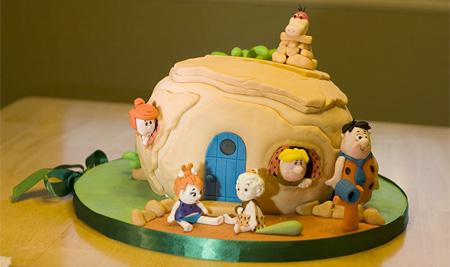 Flintstones Cake