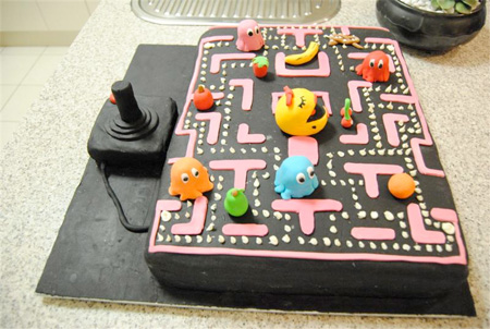 Ms Pac-Man Cake