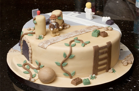 Indiana Jones Star Wars Cake