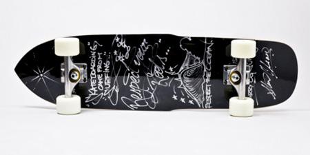 Chalkboard Skateboard