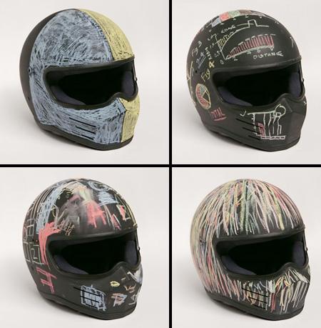 Chalkboard Helmet