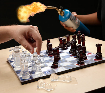 Ice Chess Set