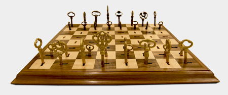 Key Chess Set