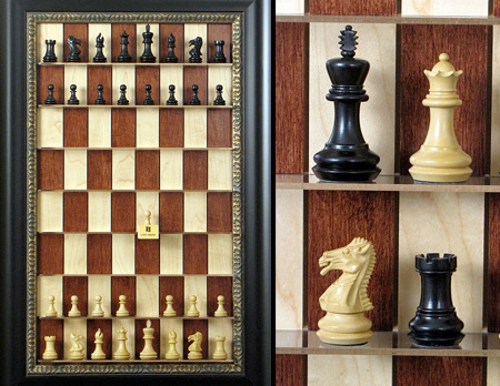 Straight Up Chess Set