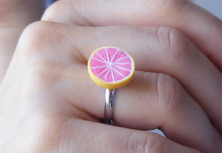 Grapefruit Ring