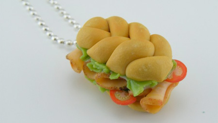 Sandwich Necklace