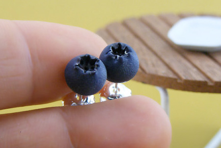 Blackberry Earrings