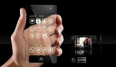 Transparent iPhone Concept