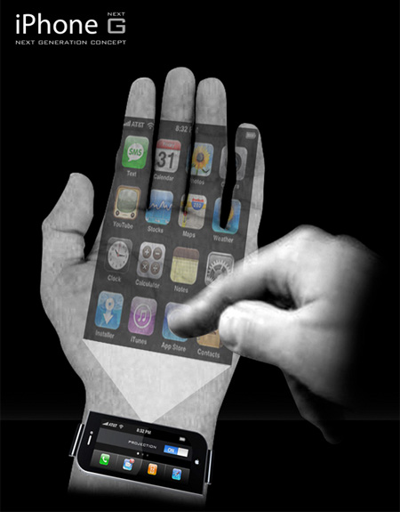 Projector iPhone Concept