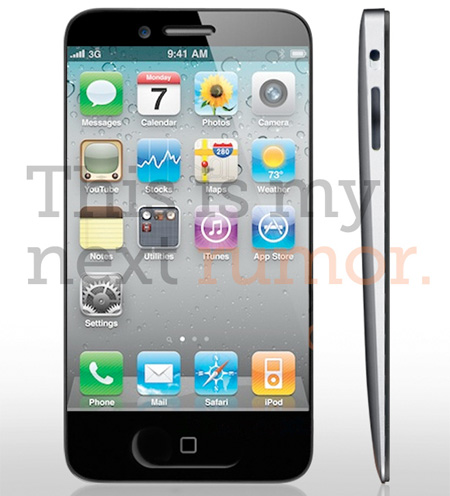 Unibody iPhone Concept