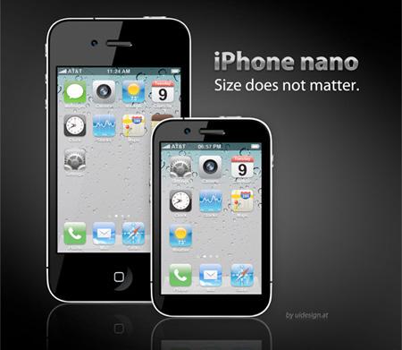 iPhone nano Concept