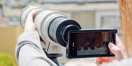 Lens Mount for your iPhone