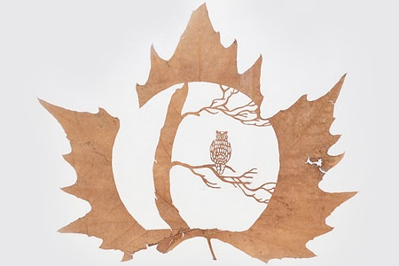 Beautiful Leaf Carvings