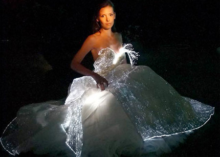 Glowing Wedding Dress