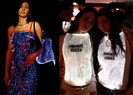 Fibre Optic Clothing
