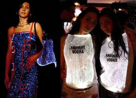 Fibre Optic Clothing