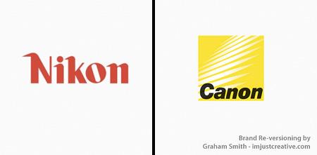 Nikon and Canon