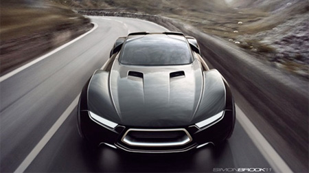 Ford Mad Max Interceptor Car