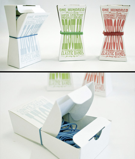 Rubber Band Packaging