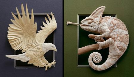 3D Paper Sculptures