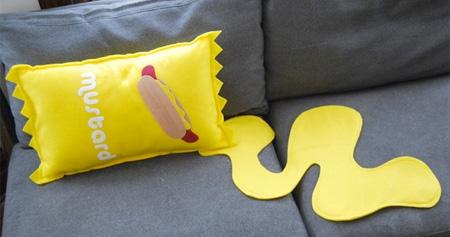 Mustard Pillow