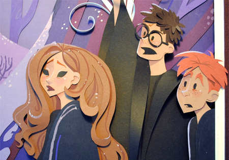 Paper Harry Potter
