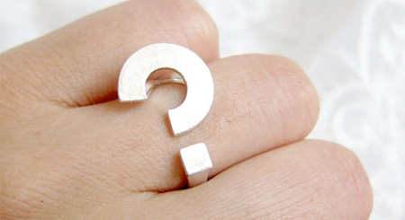 Question Mark Ring