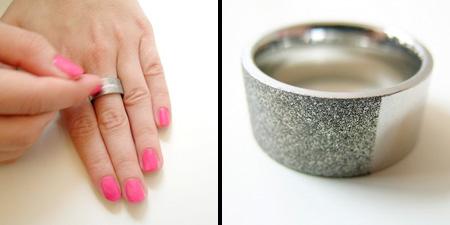 Nail File Ring