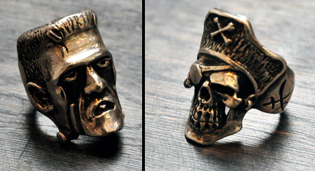 Frankenstein and Pirate Rings