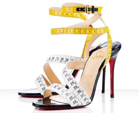 Measuring Tape Shoes