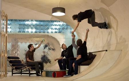 Skatepark House