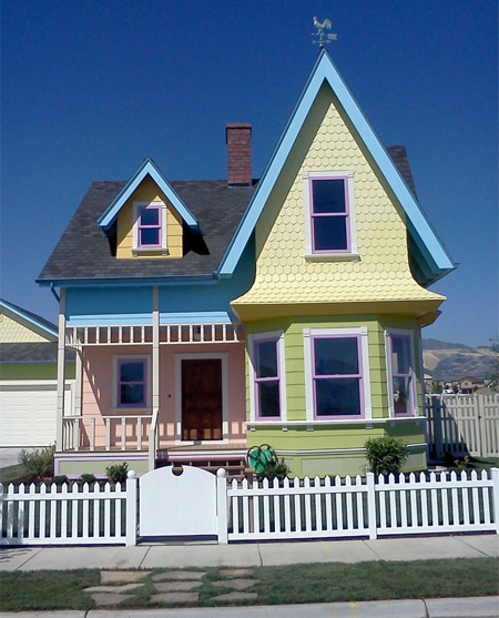 Real Life Up House
