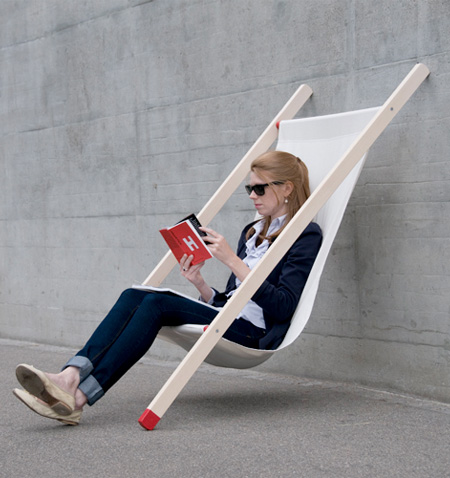 Wall Supported Chair