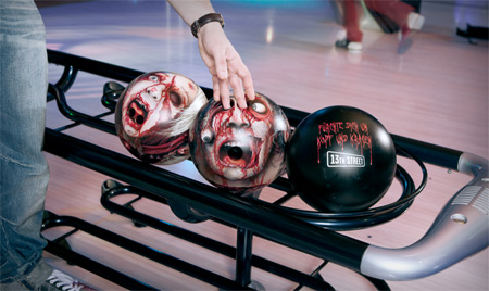 Zombie Bowling Heads
