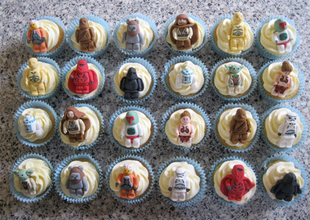 Lego Star Wars Cupcakes