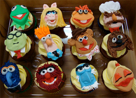 Muppet Show Cupcakes